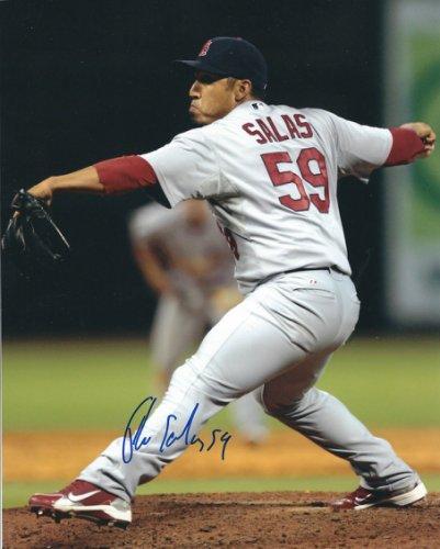 Autographed Signed Fernando Salas 8X10 St. Louis Cardinals Photo