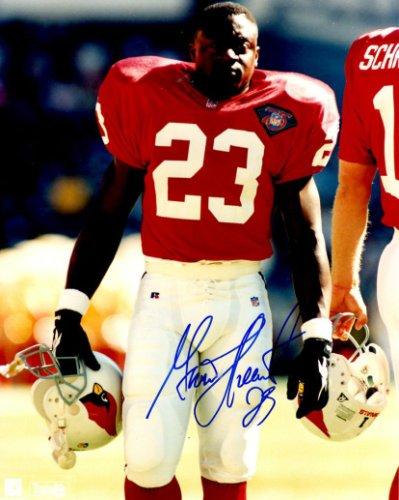 Autographed Signed Garrison Hearst 8X10 Photo Arizona Cardinals