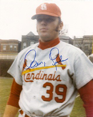 Autographed Signed George Culver St. Louis Cardinals Photo