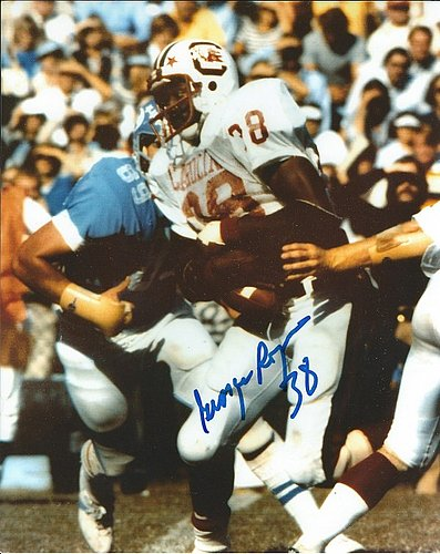 Autographed Signed George Rogers 8x10 University Of South Carolina Photo - Certified Authentic