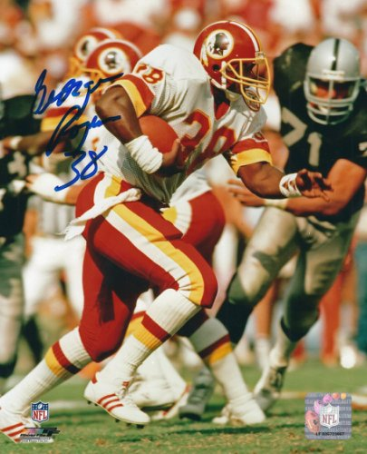 Autographed Signed George Rogers 8x10 Washington Redskins Photo