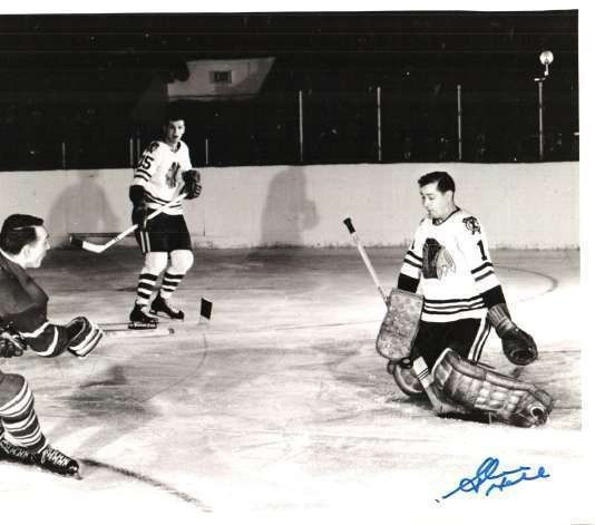 Autographed Signed Glenn Hall 8x10 Photo Chicago Blackhawks - Certified  Authentic a6e2787fa