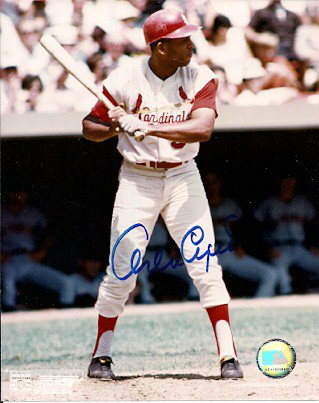 Autographed Signed Hall Of Fame Orlando Cepeda St. Louis Cardinals Photo