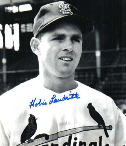 Autographed Signed Hobie Landrith St. Louis Cardinals Photo