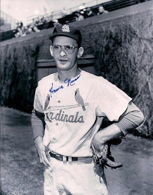 Autographed Signed Howie Nunn 8X10 St. Louis Cardinals Photo