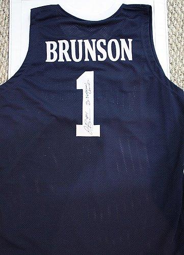 Autographed Signed Jalen Brunson Villanova University Jersey W/ Jsa Coa - Certified Authentic