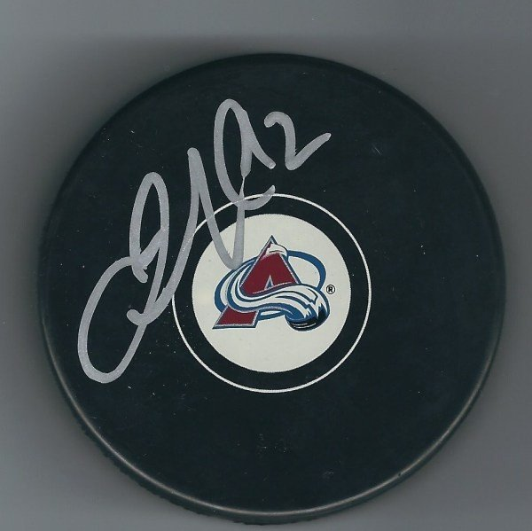 96789093620 Autographed Signed Jarome Iginla Colorado Avalanche Hockey Puck W   Coa -  Certified Authentic