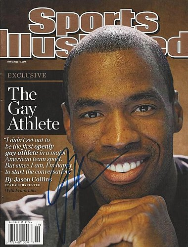 Autographed Signed Jason Collins 5/6/2013 Sports Illustrated Magazine - Certified Authentic