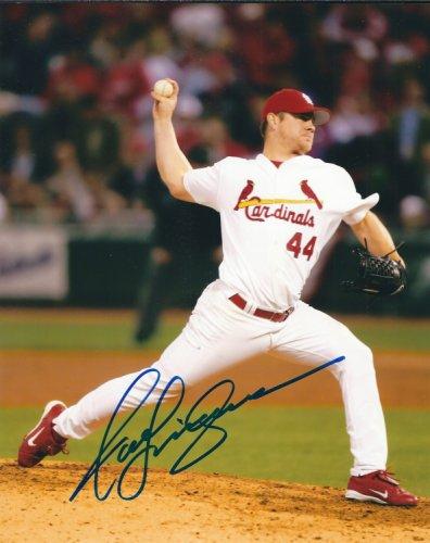 Autographed Signed Jason Isringhausen 8X10 St. Louis Cardinals Photo
