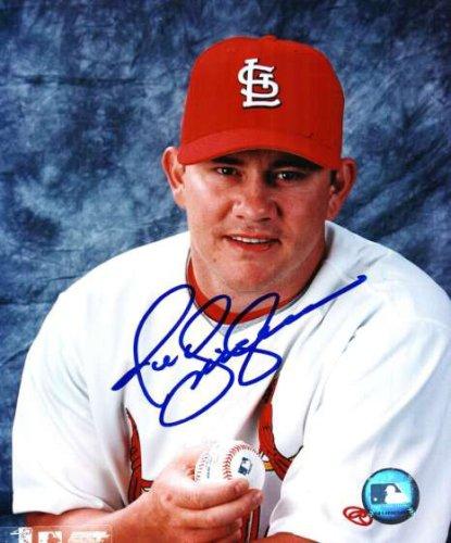 Autographed Signed Jason Isringhausen St. Louis Cardinals Photo