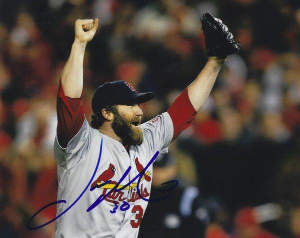 Autographed Signed Jason Motte 8X10 St. Louis Cardinals Photo