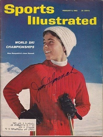 Autographed Signed Joan Hannah Sports Illustrated - Certified Authentic