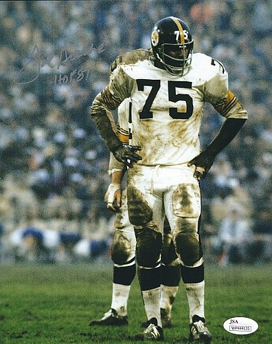 a4de4111a Autographed Signed Joe Greene 8x10 Pittsburgh Steelers Photo - Certified  Authentic