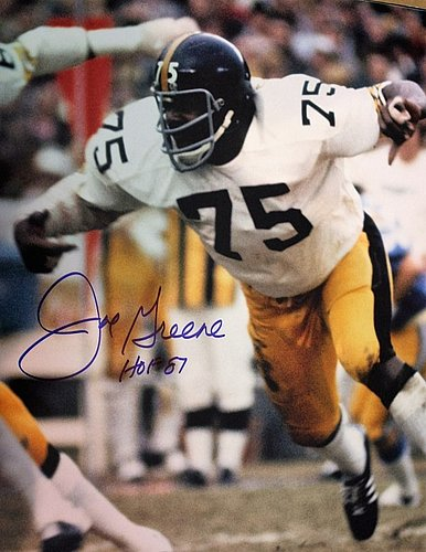 00ccb29a1 Autographed Signed Joe Greene Pittsburgh Steelers 11x14 Photo With Coa -  Certified Authentic