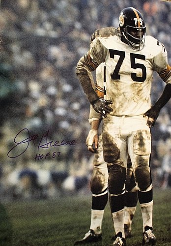 f0e32574c Autographed Signed Joe Greene Pittsburgh Steelers 16x20 Photo With Coa -  Certified Authentic