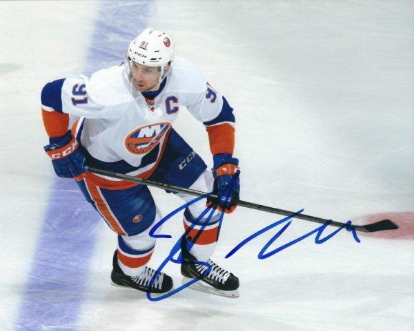new product 6d5dc 16003 Autographed Signed John Tavares New York Islanders 8x10 ...