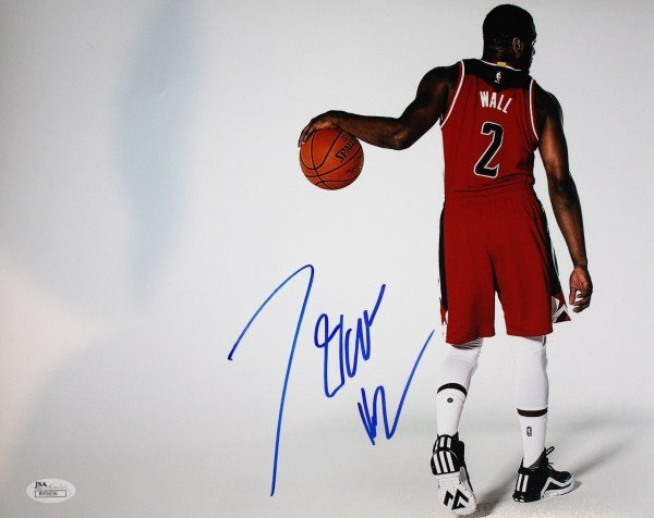 reputable site 74d74 12b0f Autographed Signed John Wall 11x14 Washington Wizards Photo With Jsa Coa -  Certified Authentic