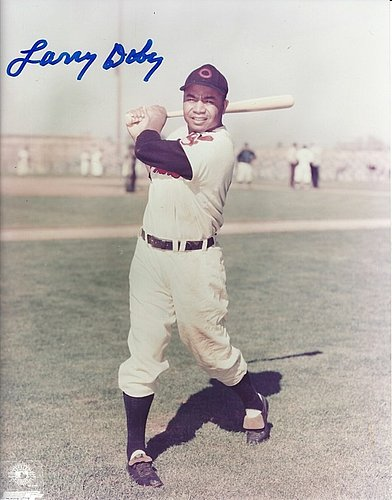 a4151a33453 Autographed Signed Larry Doby 8x10 Cleveland Indians Photo - Certified  Authentic