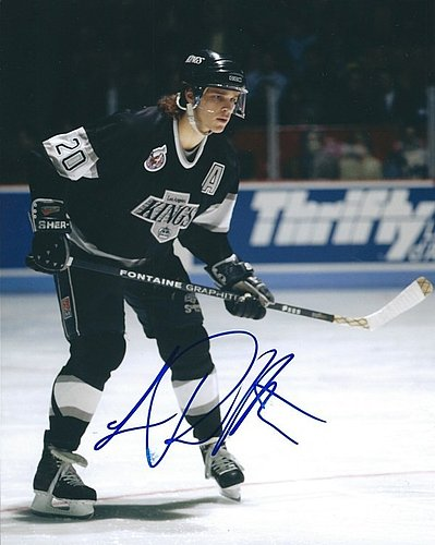 a6d38e33 Autographed Signed Luc Robitaille 8x10 Los Angeles Kings Photo - Certified  Authentic