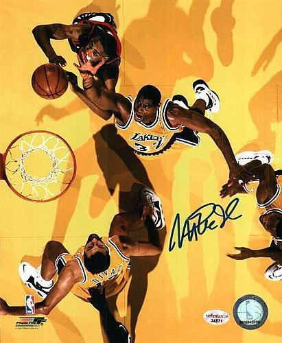 Autographed Signed Magic Johnson 8x10 Los Angeles Lakers Photo - Certified  Authentic 81f9dea8d
