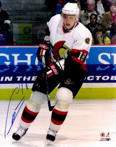 Autographed Signed Marian Hossa 8x10 Ottawa Senators Photo - Certified Authentic