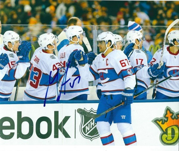 Autographed Signed Max Pacioretty 8X10 Montreal Canadiens Photo