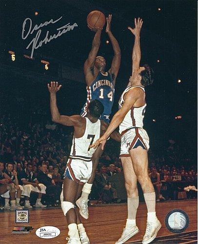 3eaef89e4 Autographed Signed Oscar Robertson 8x10 Cincinnati Royals Photo Jsa - Certified  Authentic