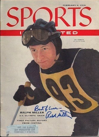 Autographed Signed Ralph Miller Sports Illustrated - Certified Authentic