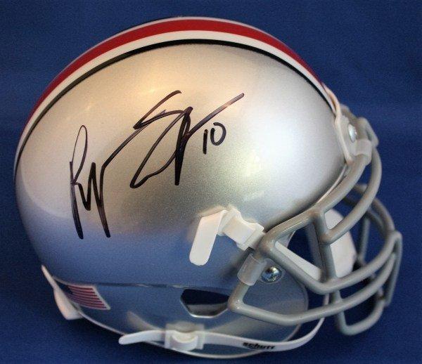 d83b49b32 Autographed Signed Ryan Shazier Ohio State Buckeyes Mini Helmet Coa -  Certified Authentic