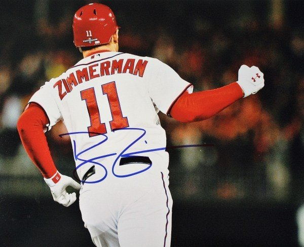 info for 866b5 0ae29 Ryan Zimmerman Autographed Memorabilia | Signed Photo ...
