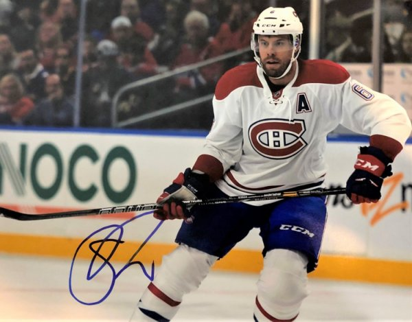 Autographed Signed Shea Weber 11X14 Montreal Canadiens Photo