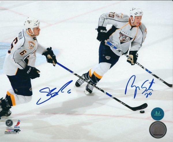 Autographed Signed Shea Weber & Ryan Suter 8x10 Nashville Predators Photo - Certified Authentic