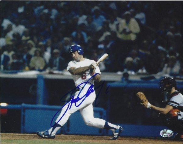 Autographed Steve Garvey 8x10 Los Angeles Dodgers Photo