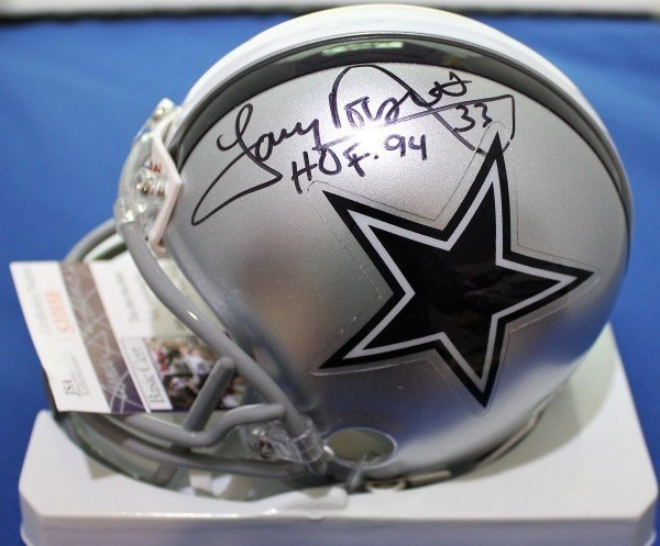 Autographed Signed Tony Dorsett Dallas Cowboys Mini Helmet With Sgc Coa -  Certified Authentic f58dc5b75