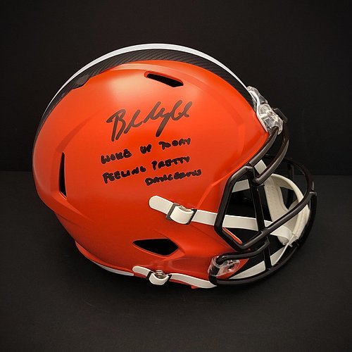 689a39cd Baker Mayfield Autographed Signed Cleveland Browns Home Jersey W ...