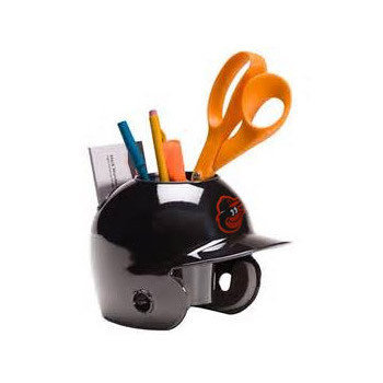 Baltimore Orioles MLB Baseball Schutt Mini Batting Helmet Desk Caddy