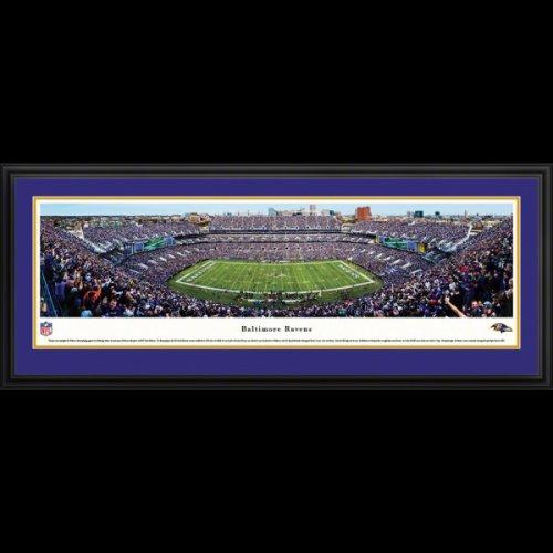 Baltimore Ravens Deluxe Framed Stadium Panoramic