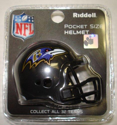 Baltimore Ravens Riddell Pocket Pro Football Helmet