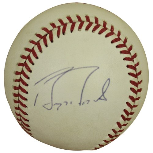 68f236bb714 Barry Bonds Autographed Signed Rawlings Official National League Baseball -  JSA Certified Authentic