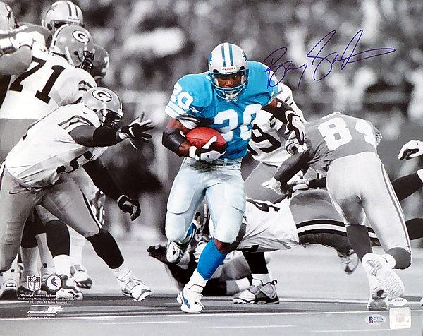 buy online 95074 b8f1f Barry Sanders Autographed Signed 16x20 Photo Detroit Lions ...