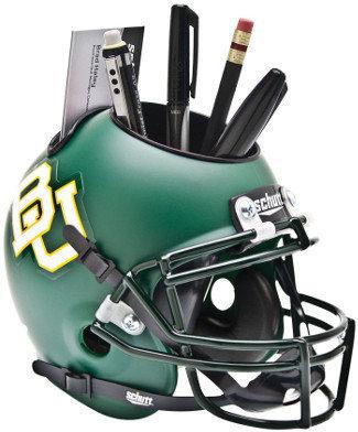 Baylor Bears NCAA Football Schutt Mini Helmet Desk Caddy