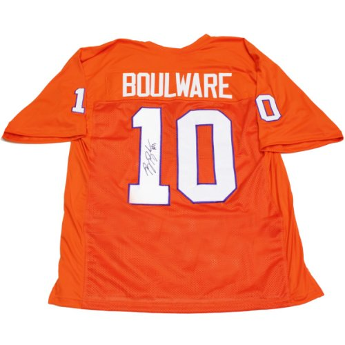 Ben Boulware #10 Autographed Signed Custom Clemson Tigers Jersey - Certified Authentic