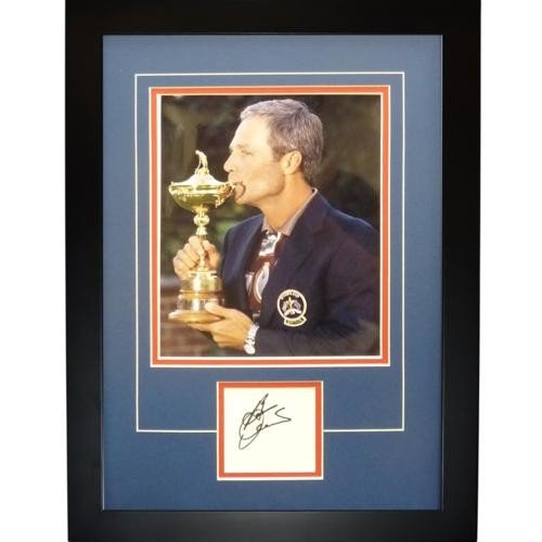 550bd9c0b85 Ben Crenshaw Autographed Signed Auto 1999 Ryder Cup Team USA Captain Trophy  Signature Series Frame -
