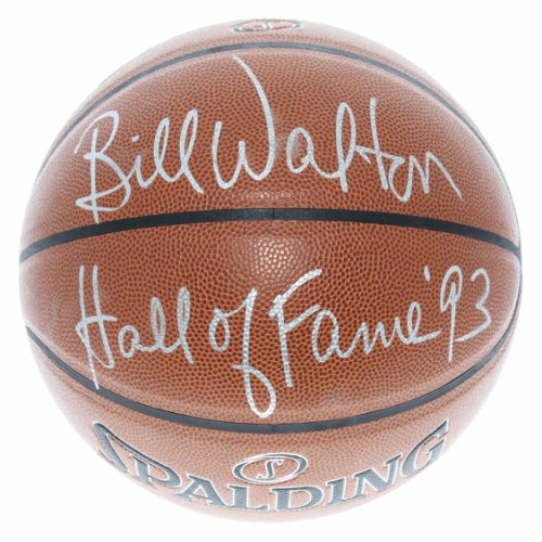 afe28bc4421 Bill Walton Autographed Signed Spalding NBA Basketball - Hall of Fame  93  Inscription - JSA