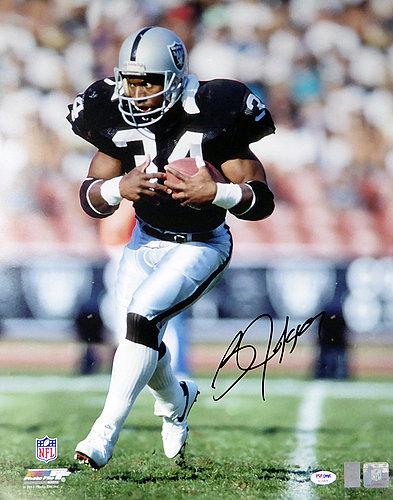 Bo Jackson Autographed Memorabilia Signed Photo Jersey