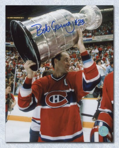 the best attitude 41d87 61661 Bob Gainey Montreal Canadiens Autographed Signed Stanley Cup ...