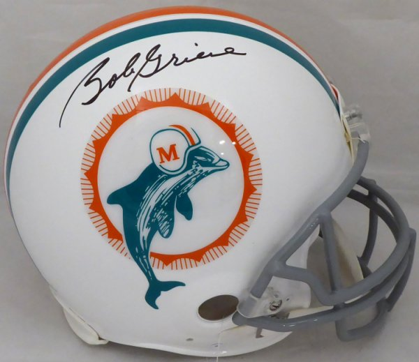 Bob Griese Autographed Signed Miami Dolphins Full Size Authentic Proline Helmet Beckett BAS