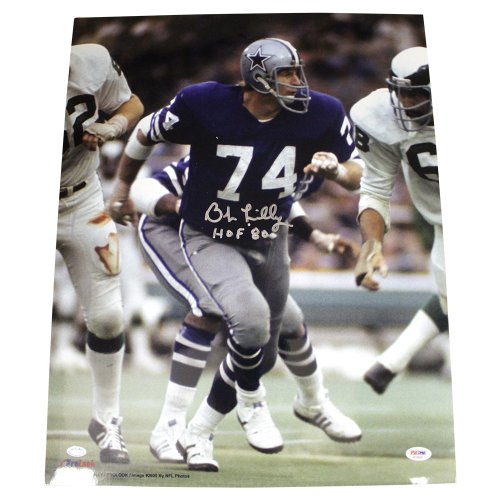 0201f289 Bob Lilly Autographed Signed 16x20 Photo Dallas Cowboys - Certified  Authentic