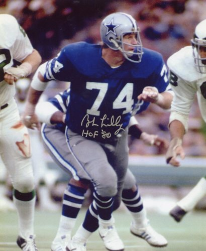 495e6ac0 Bob Lilly Autographed Signed 8x10 Photo Dallas Cowboys - Certified Authentic