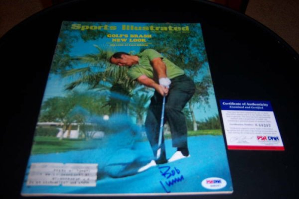 Bob Lunn Autographed Signed Palm Springs PSA/DNA Sports Illustrated